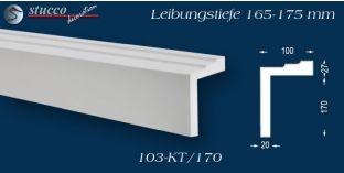Stuck Fassade Leibungsverkleidung Dorsten 103 KT 165-175 mm