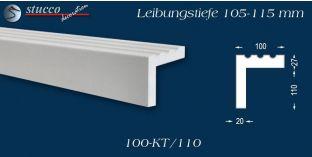 Stuck Fassade Leibungsverkleidung Erding 100 KT 105-115 mm