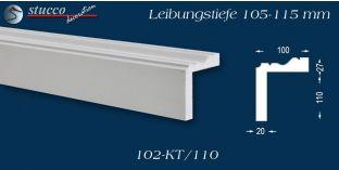 Stuck Fassade Leibungsverkleidung Gröditz 102 KT 105-115 mm