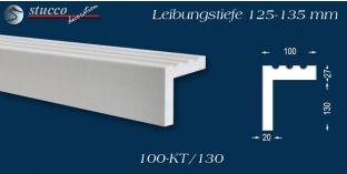 Stuck Fassade Leibungsverkleidung Papenburg 100 KT 125-135 mm