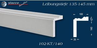 Stuck Fassade Leibungsverkleidung Olpe 102 KT 135-145 mm