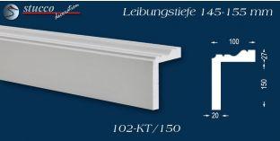 Stuck Fassade Leibungsverkleidung Clingen 102 KT 145-155 mm