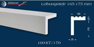 Stuck Fassade Leibungsverkleidung Niedersachsen 100 KT 165-175 mm