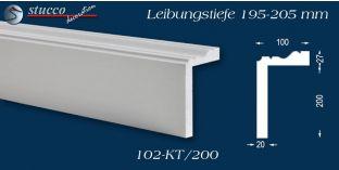 Stuck Fassade Leibungsverkleidung Gladbeck 102 KT 195-205 mm