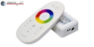 LED RGB-W Controller mit Touch Fernbedienung