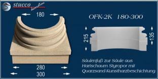 Säulenfuss mit Beschichtung OFK-2K 180/300