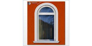 106. Fassaden Idee: flexible Stuckleisten zur Außenstuck Fensterumrandung / Türumrandung