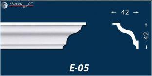 Styropor Stuckleisten E-5