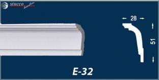 Stuckleisten E-32