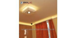 3. Wohnidee: Stuckleisten und indirekte Beleuchtung