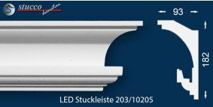 Stuckleisten für indirekte Beleuchtung Hamburg 203
