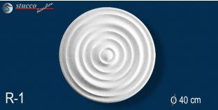 Styropor Rosette Marbet Design® R1