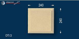 Bossenplatten mit Beschichtung Zaire DT-2