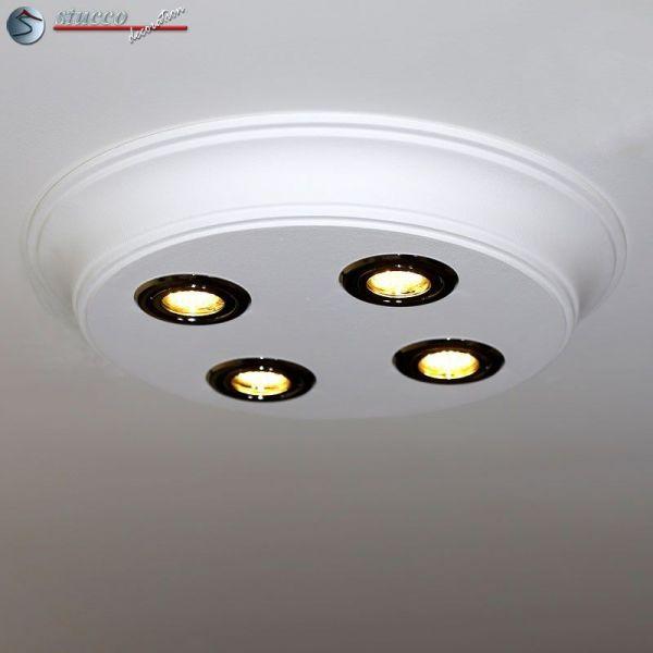 led deckenbeleuchtung design stucklampe mit led spots bayern 10 500x500 3. Black Bedroom Furniture Sets. Home Design Ideas