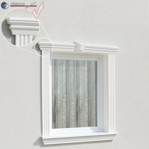 Fassadenstuck Flexible Zierleisten Fur Ausseren Bogen Ankara 108