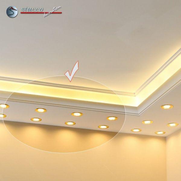 Indirekte Deckenbeleuchtung | Lichtleiste Fur Direkte Und Indirekte Beleuchtung Munchen 400 205