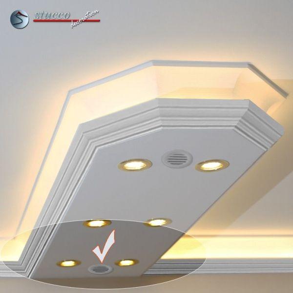 Lichtleiste für direkte und indirekte Beleuchtung Essen 400+2x202