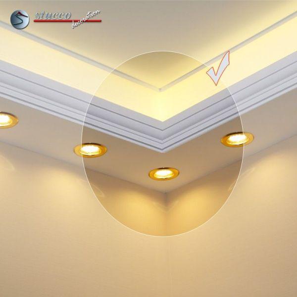 inneres eckelement f r direkte und indirekte beleuchtung essen 190 202. Black Bedroom Furniture Sets. Home Design Ideas