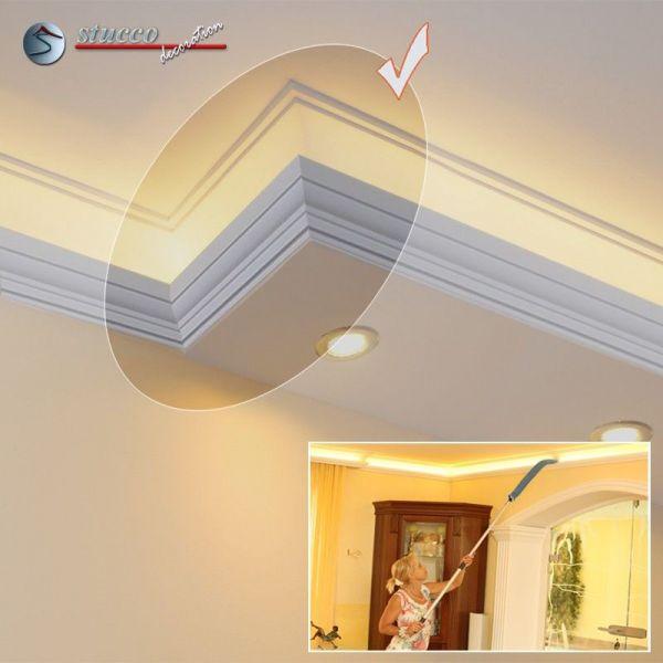 endst ck links f r direkte und indirekte beleuchtung essen 270 202 plexi plus. Black Bedroom Furniture Sets. Home Design Ideas
