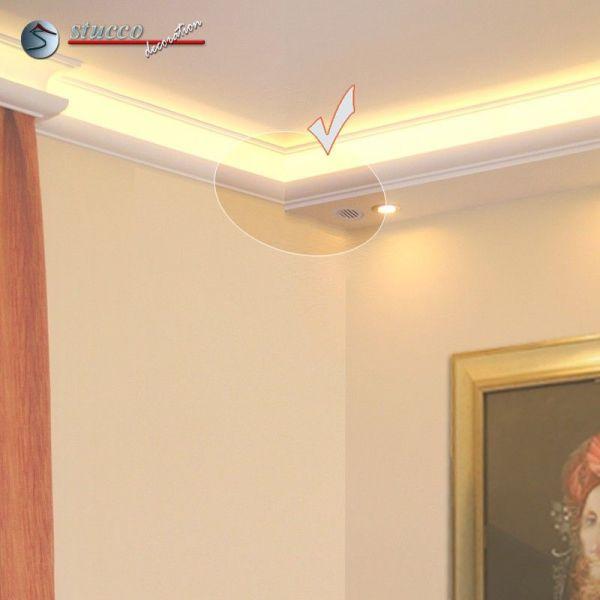 verbindungsst ck links mit l ftungsgitter f r direkte und. Black Bedroom Furniture Sets. Home Design Ideas