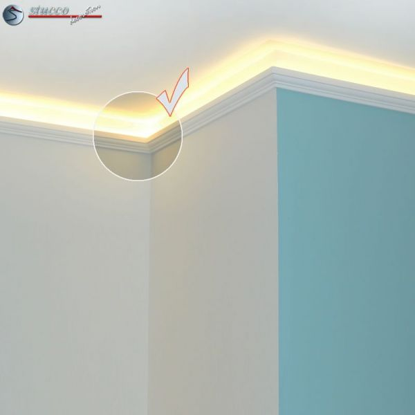 stuckleisten f r indirekte beleuchtung 201. Black Bedroom Furniture Sets. Home Design Ideas