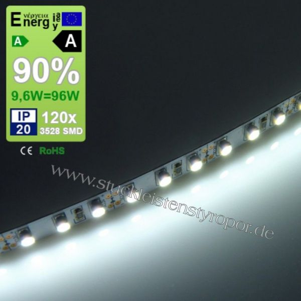 led band 3528 smd 120 led strip kaltwei. Black Bedroom Furniture Sets. Home Design Ideas