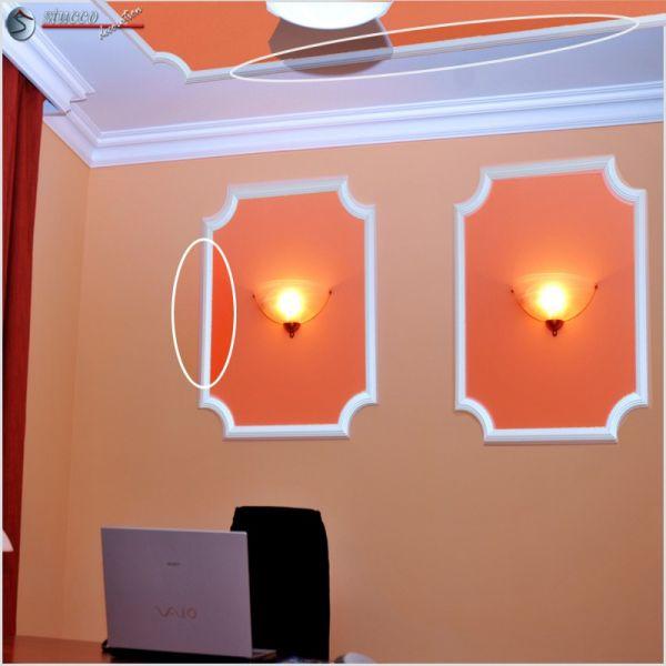 styropor deckenleisten und wandleisten zierleisten ibiza 54. Black Bedroom Furniture Sets. Home Design Ideas