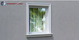Stuck Fassade Leibungsverkleidung Eisfeld 103 KT 195-205 mm