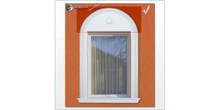 Fassadenprofile für inneren Bogen flexible Stuckleisten Soul 60