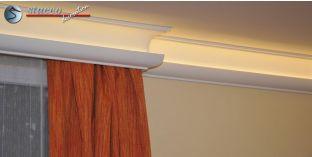 Stuckleisten für indirekte Beleuchtung Vorhangleiste Nürnberg 206