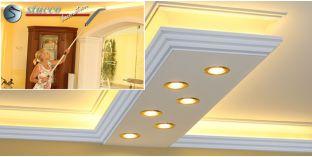 LED Lichtleiste für direkte und indirekte Beleuchtung Dortmund 270+2x209 PLEXI PLUS