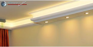 LED Lichtleiste für direkte und indirekte Deckenbeleuchtung München 270+205