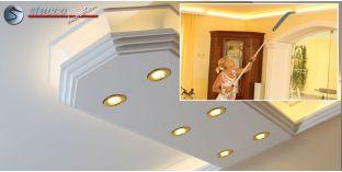 LED Lichtleiste für direkte und indirekte LED Beleuchtung Dortmund 400+2x209 PLEXI PLUS