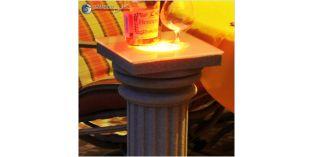 Stossfeste Dekosäule mit LED Licht ODKK-2 260/678