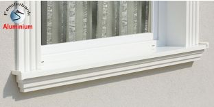 Komplette Fensterbank Lindow 105 1120-1170-250