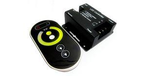 LED Touch Controller für Dual-Weiss LED Streifen mit Fernbedienung