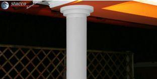 Glatter Säulenschaft mit Beschichtung OSK 130/166