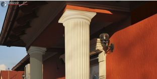 Säulenkapitell mit Beschichtung OFK-2K 300/420