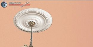 Marbet Design® R20 Styropor Stuck Rosette
