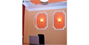 Styropor Decken Leisten und Wandleisten, Sanmarino 50