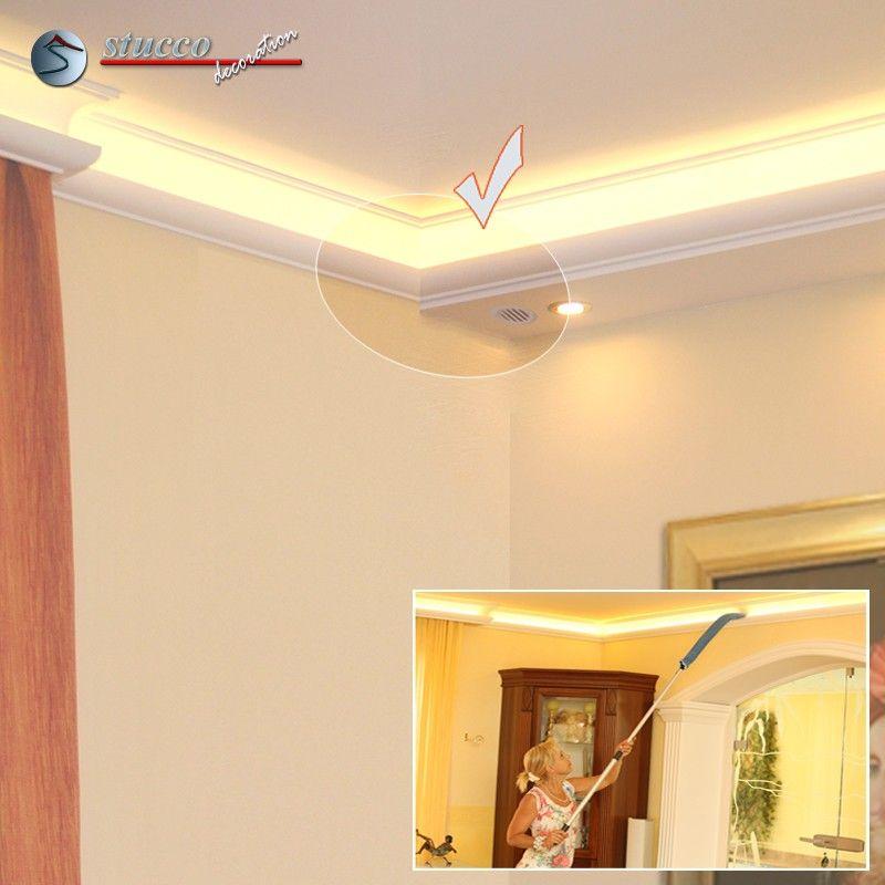 dekos ule hartschaum odk 527 755 mit beleuchtung. Black Bedroom Furniture Sets. Home Design Ideas
