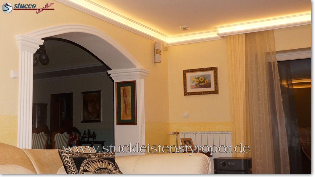 styroporleisten wohnzimmer. Black Bedroom Furniture Sets. Home Design Ideas