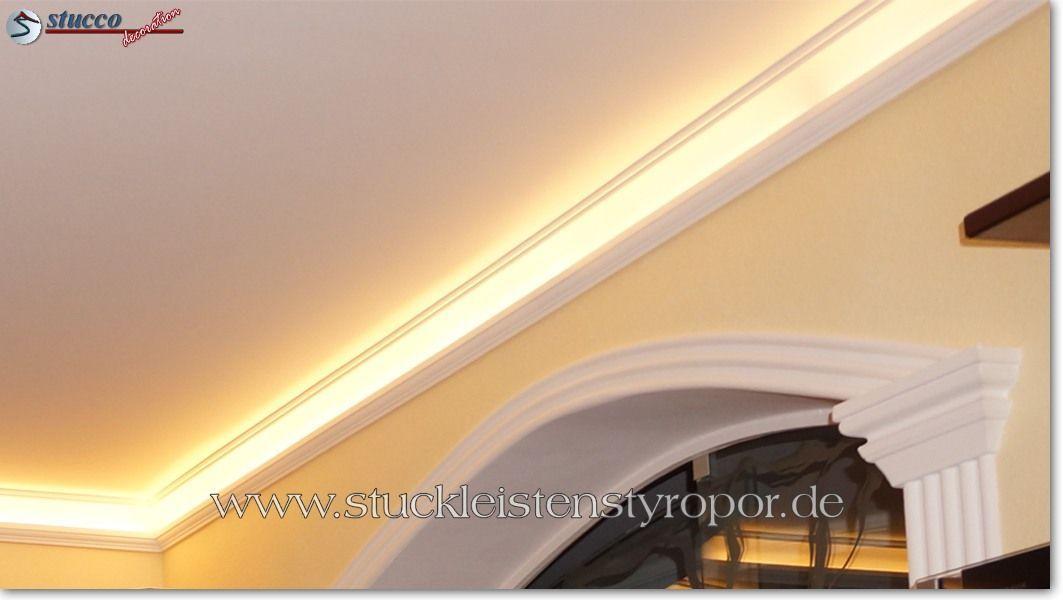 Styroporleisten für indirekte Beleuchtung