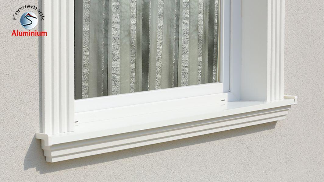 Fassadenstuck und au enstuck aus styropor - Fensterbank setzen ...