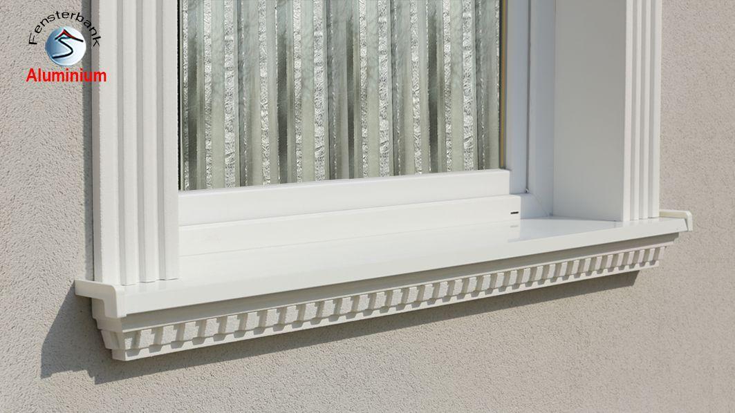 So wird eine Außen Fensterbank mit Alu-Abdeckung in 5 Minuten eingebaut