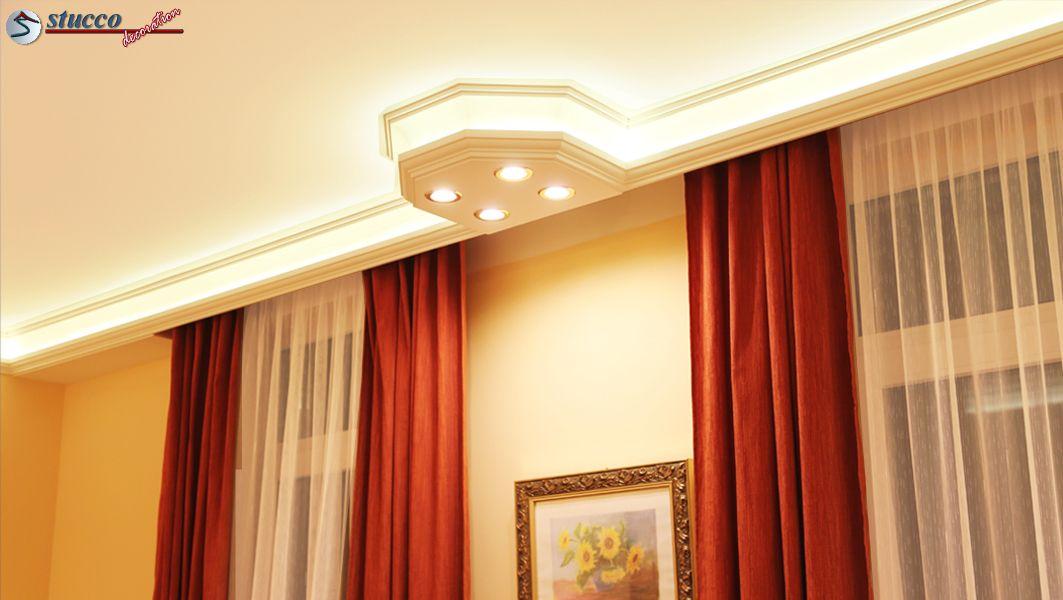 stuckleisten f r indirekte beleuchtung vorhangleiste hamburg 203. Black Bedroom Furniture Sets. Home Design Ideas