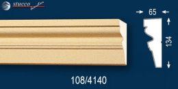 Stoßfest beschichtetes Fassadenprofil Ankara 108