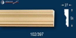 Stoßfestes, fertig beschichtetes Fassadenprofil Oxford 102