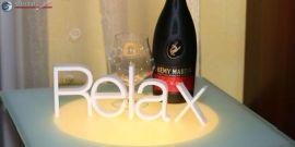 3D Dekobuchstaben - 'Relax' Wort