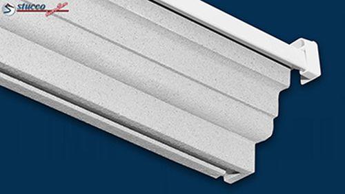 Fensterbankprofil mit Tropfnase an einer Aluminium Fensterbank